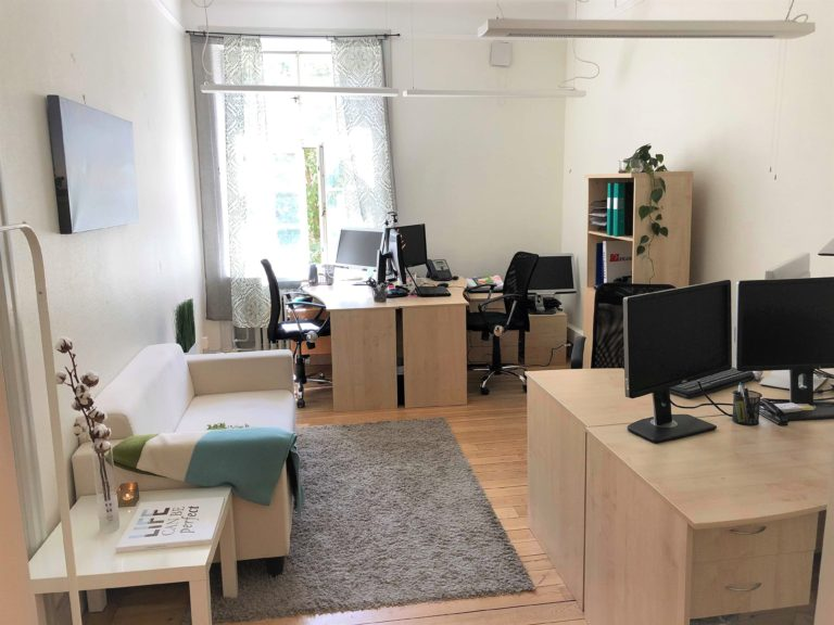 small office in Stockholm