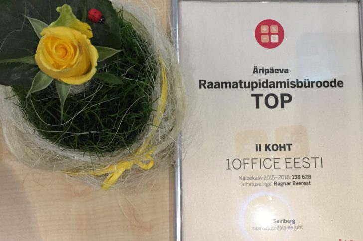 1Office Estonia Äripäeva TOP